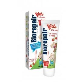 BIOREPAIR Junior - 50ml - wyjątkowa pasta dla dzieci, z wyciągiem z poziomki, wzmacniająca i remineralizująca zęby