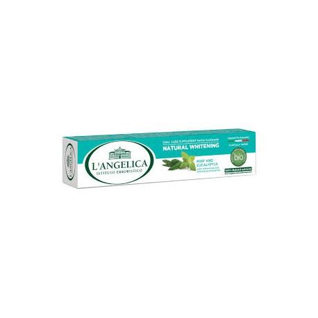 L'Angelica Naturalnie Wybielająca 75 ml - Wybielająca pasta do zębów w 100% naturalna