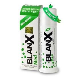 BLANX Czysta Natura (Pure Nature) - 75ml - naturalna, unikalna i bezpieczna pasta wybielająco-ochronna - NOWOŚĆ !!!